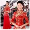 供应红色新娘旗袍